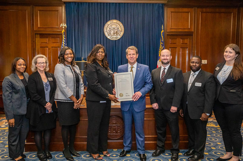 Governor Kemp & GCEO Staff
